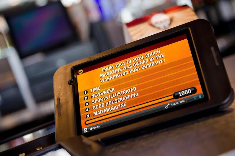 Buzztime Tablet