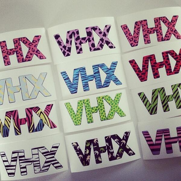 vhx stickers