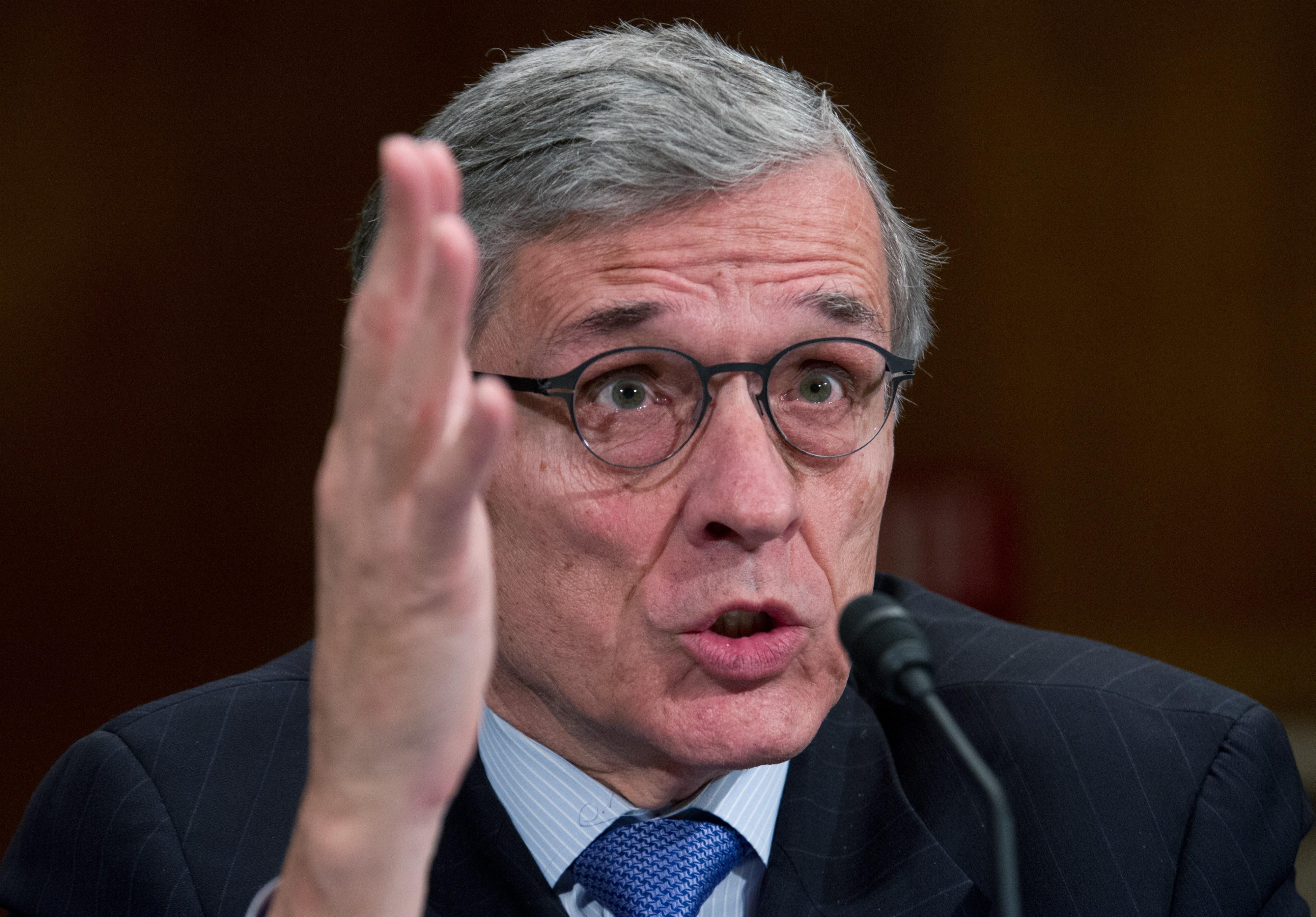 Photo of FCC Chairman Tom Wheeler by KAREN BLEIER/AFP/Getty Images