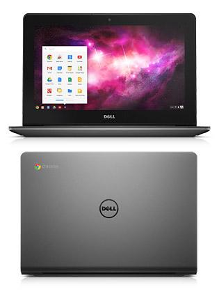 dell chromebook front