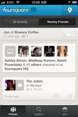 Foursquare Nearby