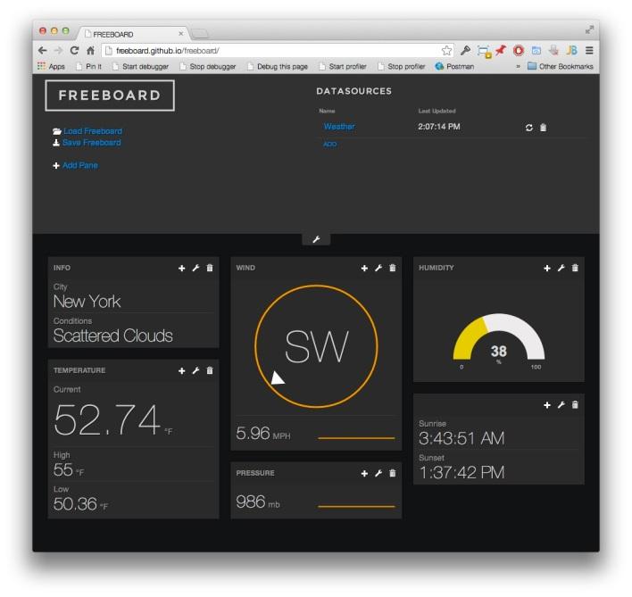 A freeboard screenshot.