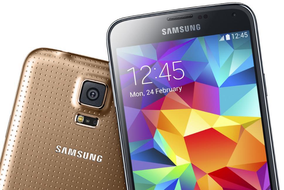 Galaxy S5 copper