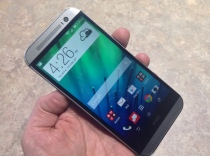 HTC One M8 in hand