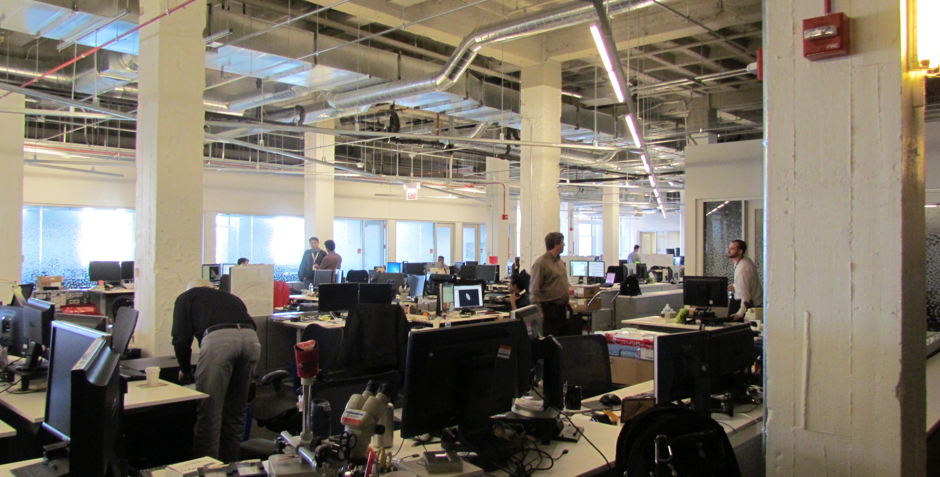 Motorola HQ workspace