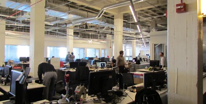 Motorola HQ workspace