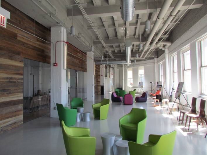 Motorola HQ lounge