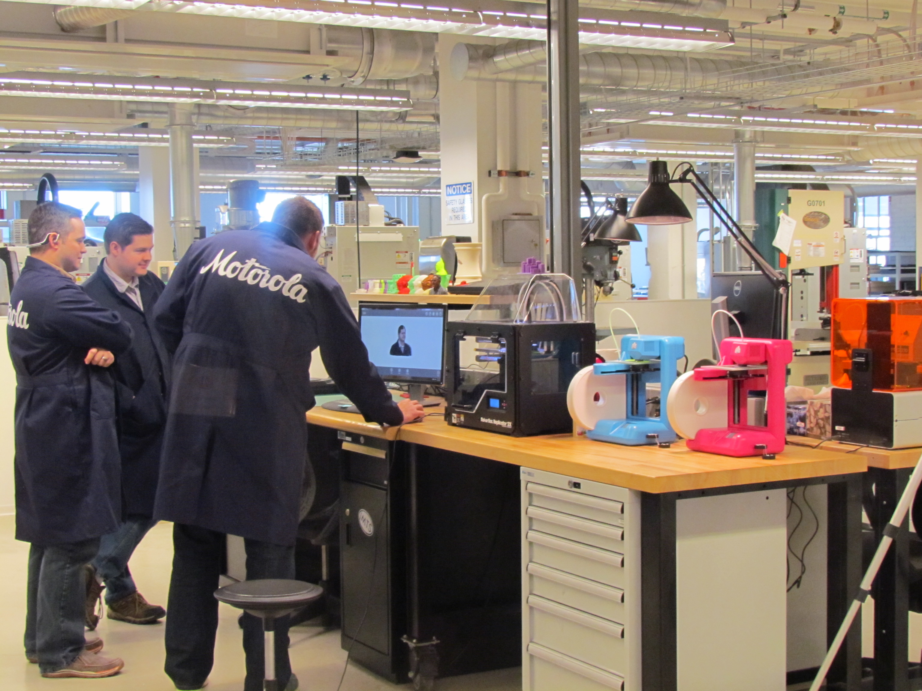 Machine shop complete with MakerBots
