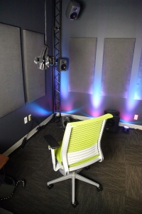 The demo room in Jaunt's Palo Alto office. Photo by Signe Brewster.