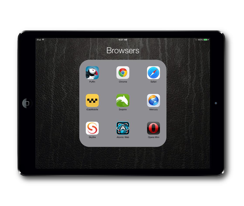 iOS Browser Choices