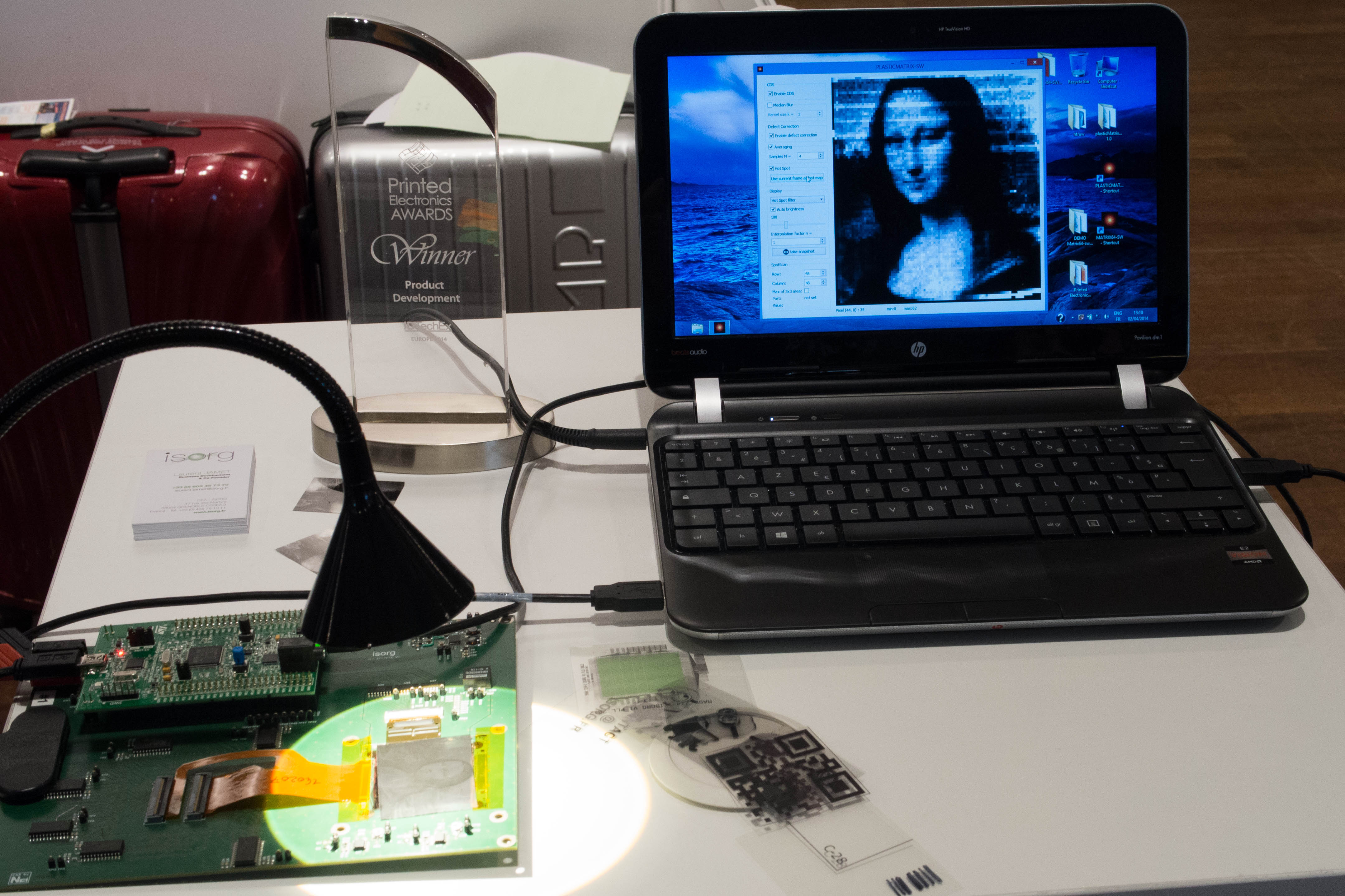 ISORG Mona Lisa imagine
