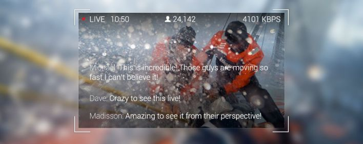 livestream glass comments