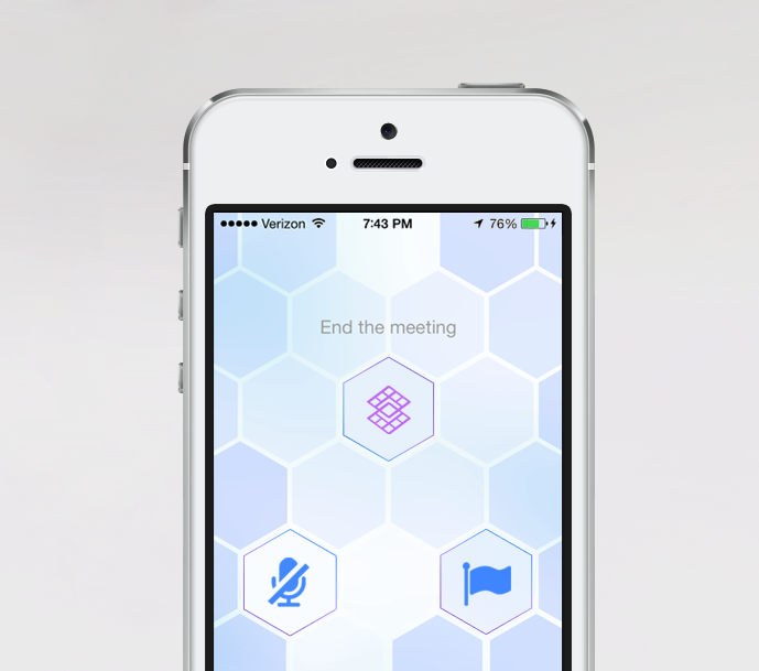 The Memo mobile app. Source: Gridspace