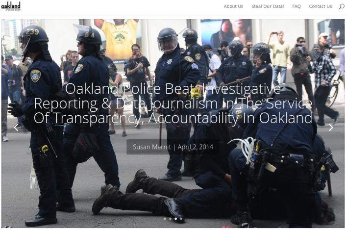 Oakland police beat