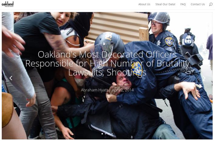 Oakland police beat1