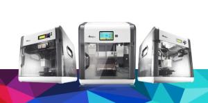 XYZprinting da Vinci 3D printer line