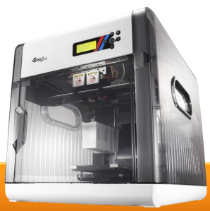 The da Vinci 2.0 3D printer. Photo courtesy of XYZprinting.