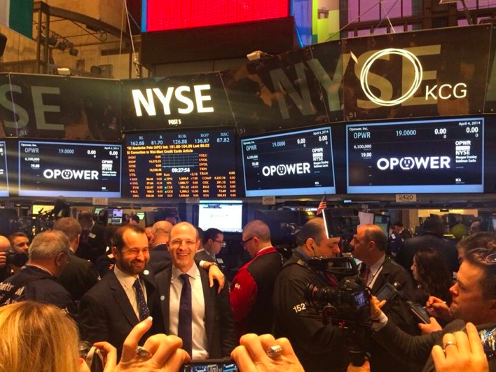 The founders of Opower, Dan Yates and Alex Laskey