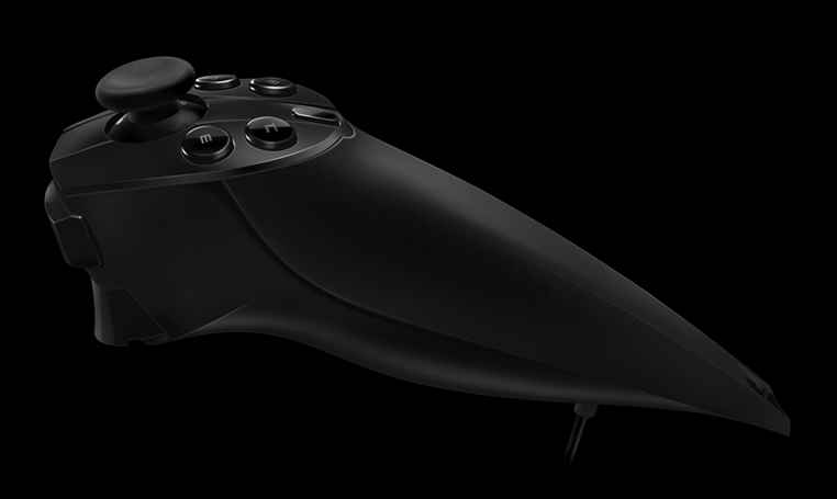 Survios' current prototype is compatible with Sixense's Razer Hydra controllers. Photo courtesy of Sixense.