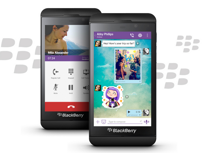 Viber for BlackBerry 10 (Source: Viber)