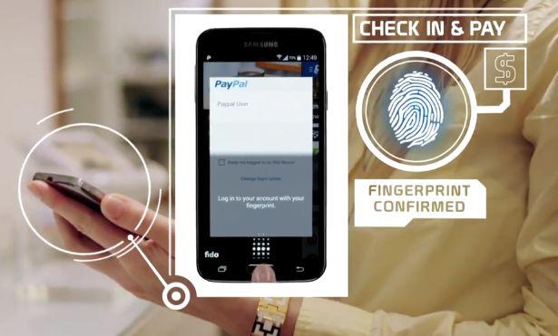 PayPal fingerprint