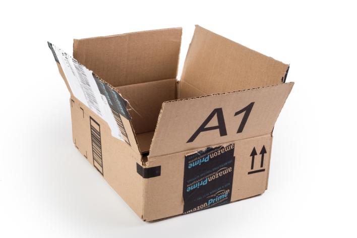 amazon box, amazon prime