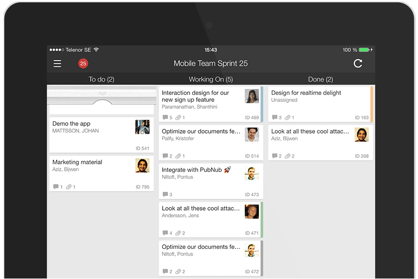 ToDo project management app