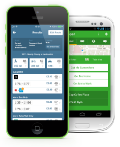 Citymapper apps