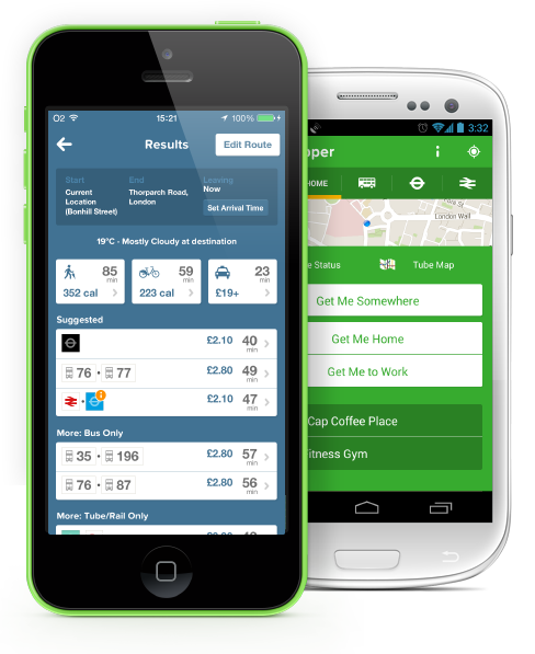 Citymapper apps