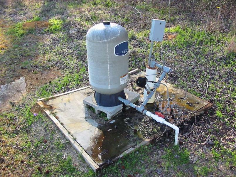 USGS water well