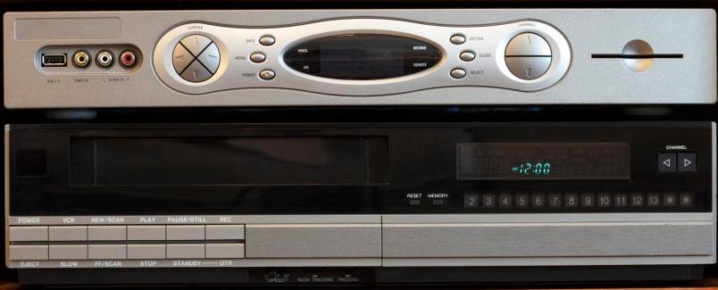 New DVR with Old VCR