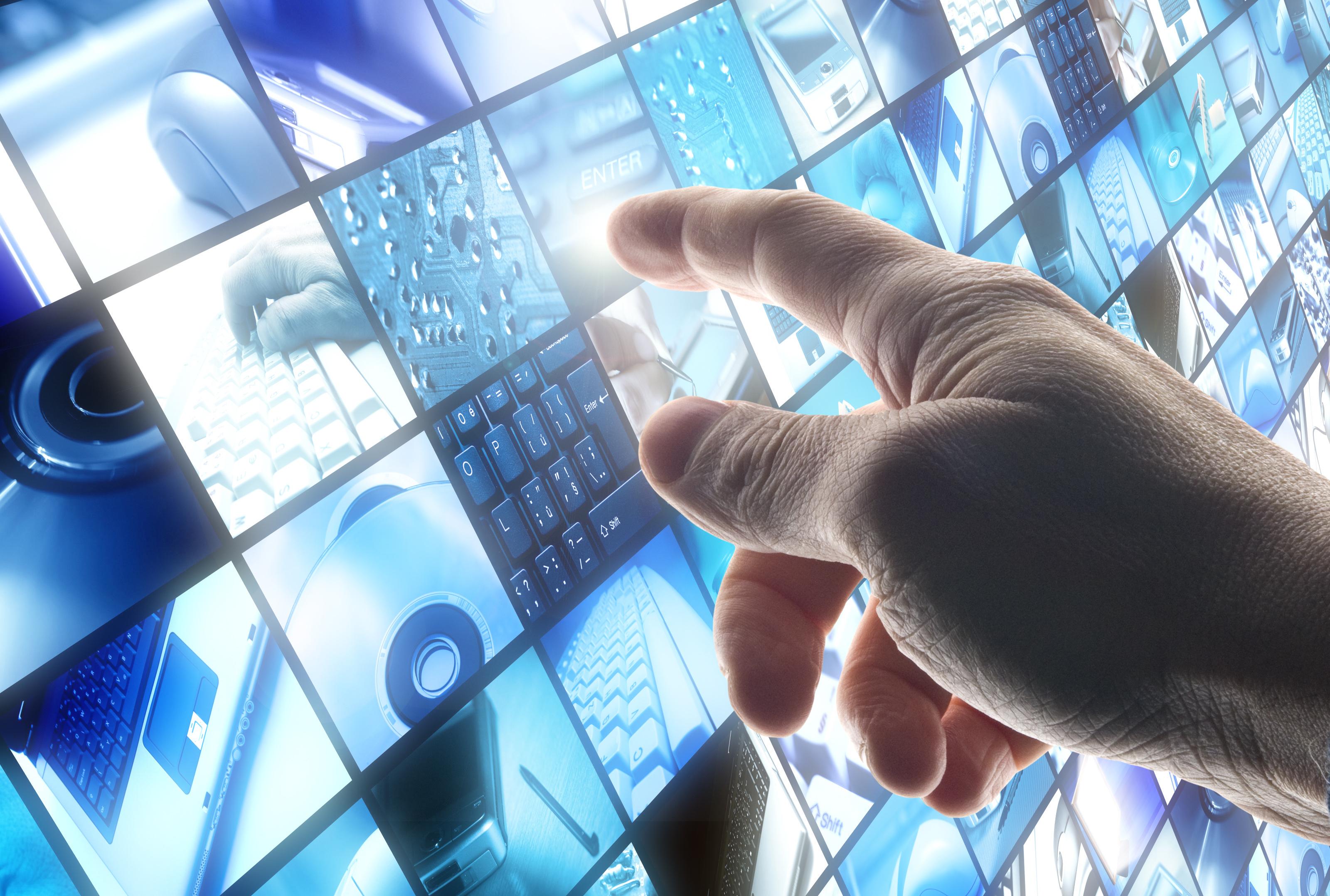 video technology screen