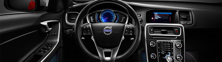 Volvo's connected dashboard (source: Volvo)