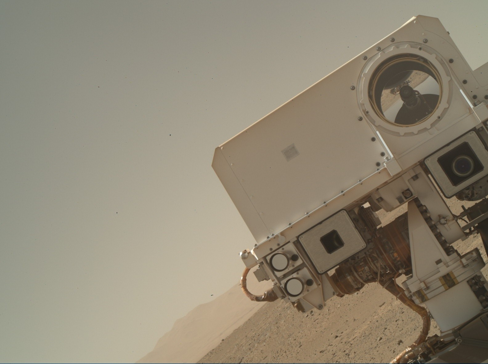NASA Mars Curiosity rover