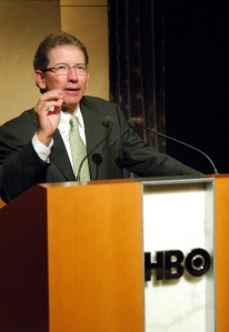 """Tom Siebel, Executive Producer during HBO Documentary Films Screening of """"Montana Meth"""" - March 13, 2007 (Photo by Michael Loccisano/FilmMagic)"""