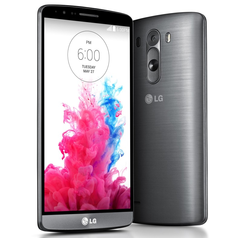 LG G3 screen front and back