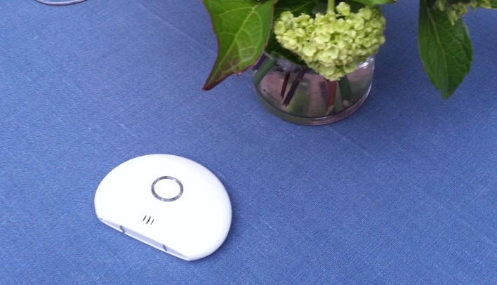 A Wally sensor that will last 10 years on one battery.