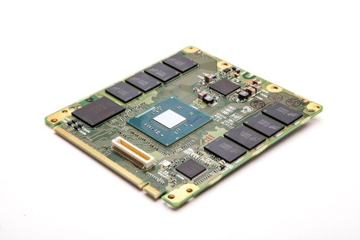 An Intel  in-vehicle module (source: Intel)