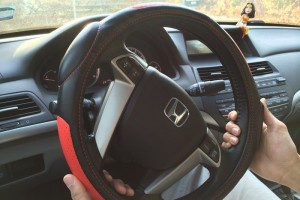 Jeane networked car steering wheel cover