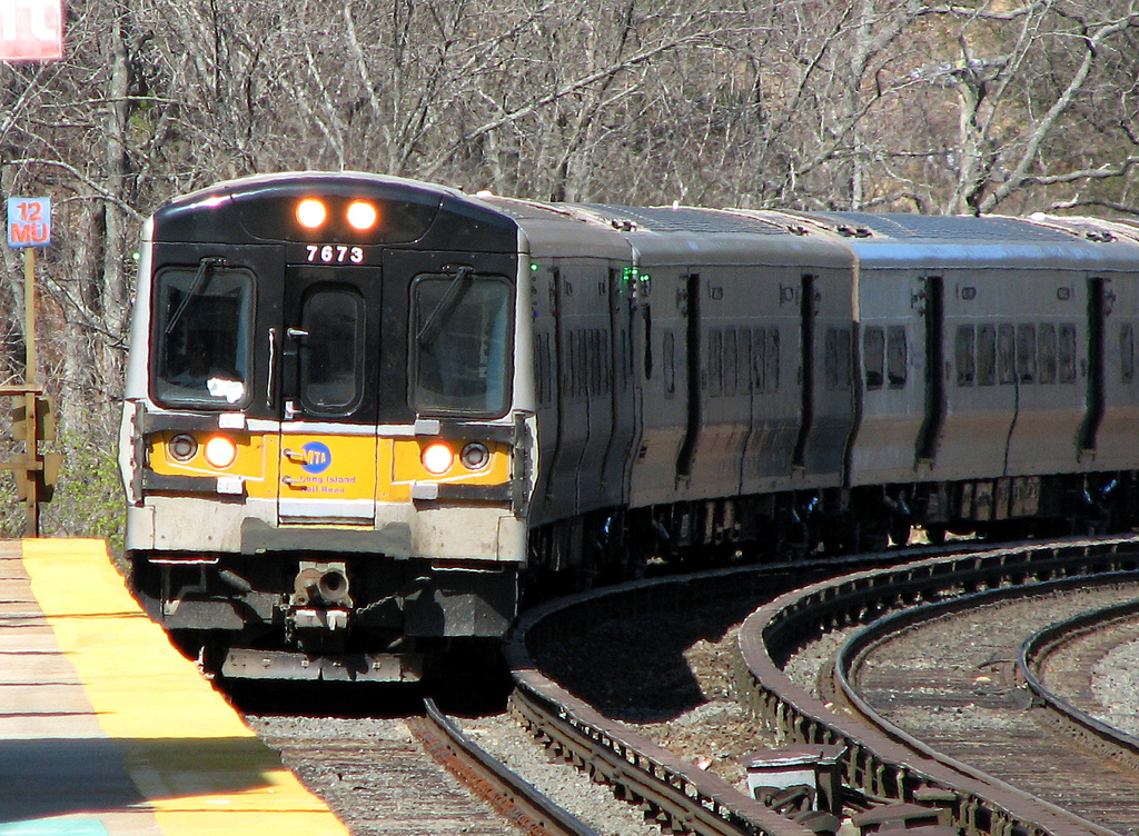 Long Island Railroad commuter train