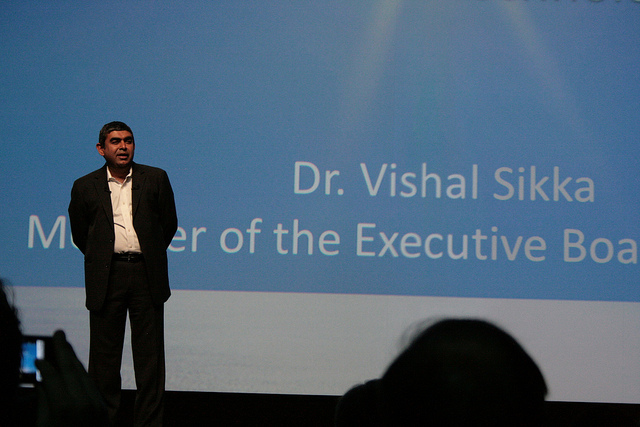 Former SAP HANA executive Dr. Vishal Sikka
