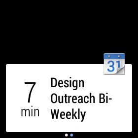 calendar android wear
