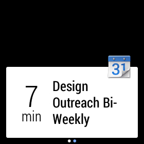 calendar android wear