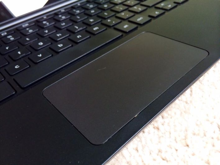 dell chromebook trackpad