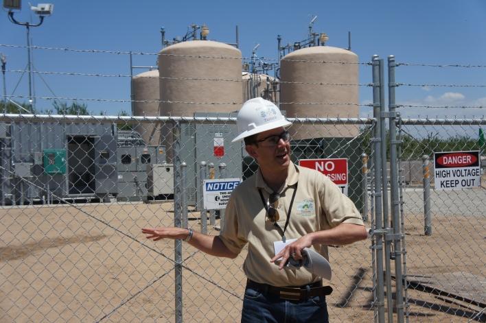 EnerVault engineer Jeremy Meyers
