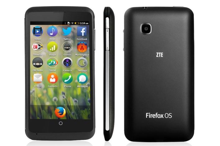Firefox OS Smartphoen