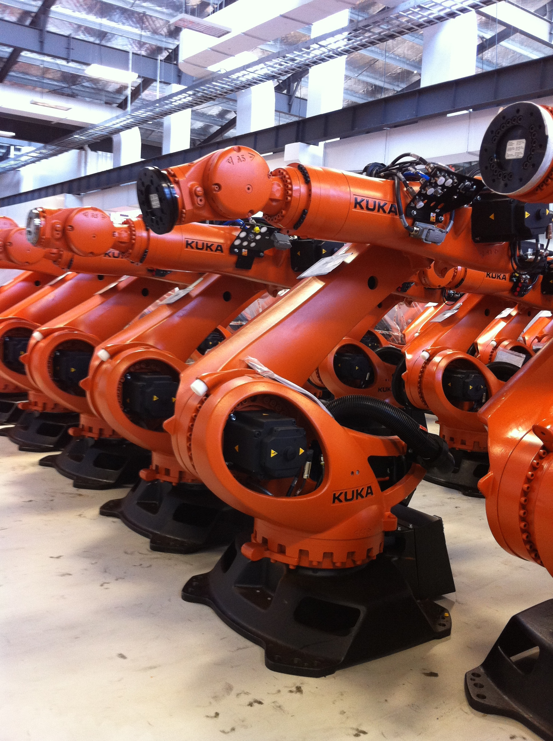Kuka Robots will be installed at Factorli