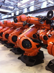 Kuka Robots will be installed at Factorli