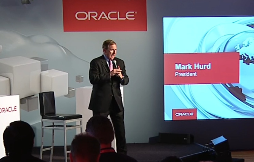 Oracle co-president Mark Hurd.