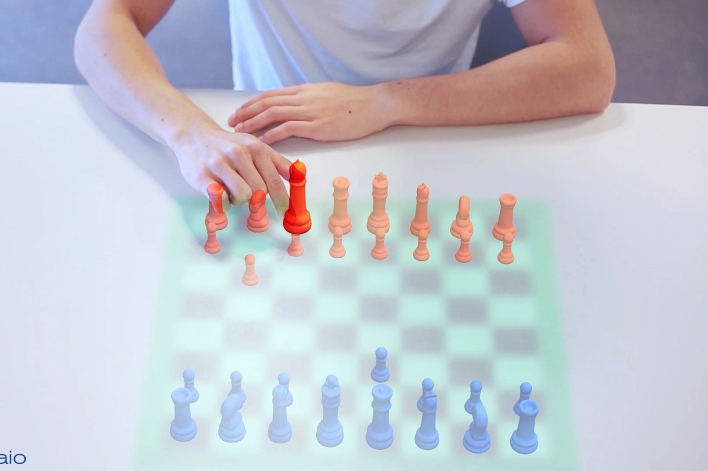 Metaio Thermal Touch chess